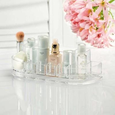 Curved Cosmetics Organizer