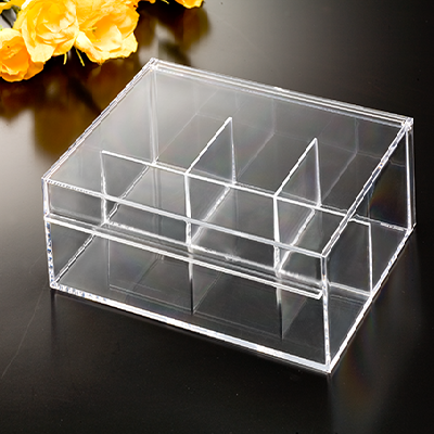 4-Compartment Box with Lid