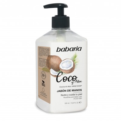 BABARIA HAND SOAP COCONUT-31184