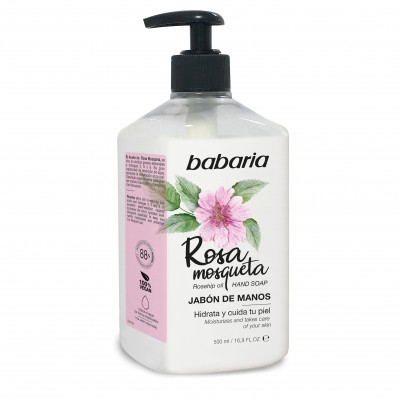 BABARIA HAND SOAP ROSEHIP OIL -31622