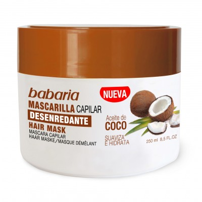 BABARIA COCONUT OIL HAIR MASK 250/31189