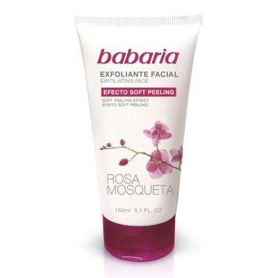 BABARIA  EXFOLIATING FACE SCRUB ROSA/31602