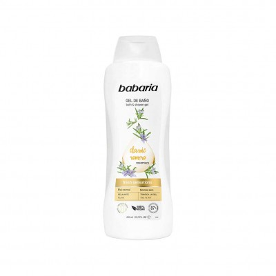 BABARIA TONING BATH AND SHOWER GEL -600ML