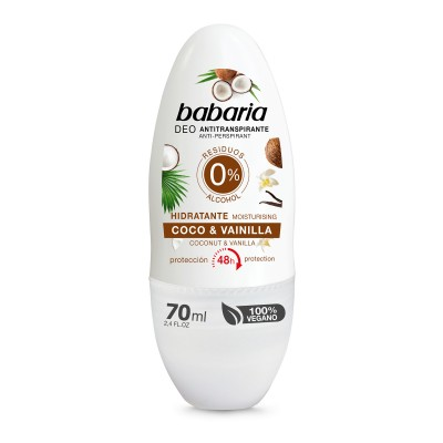 BABARIA DEO ROLL ON COCO 70 ML/31037