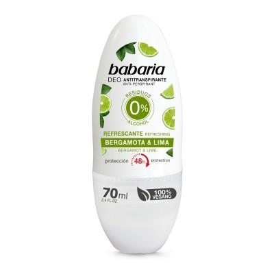 BABARIA DEO ROLL ON BERGAMOTA 70 ML/31036