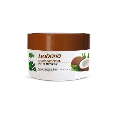BABARIA BODY CREAM FOR VERY DRY SKIN -200ML