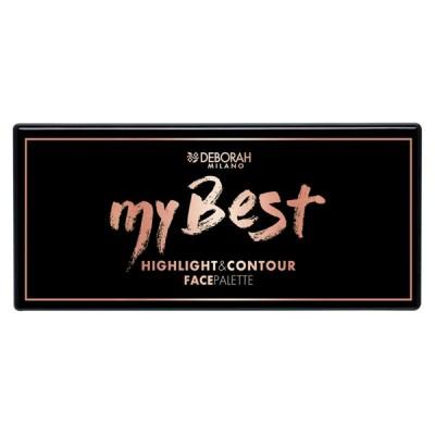 DEBORAH My Best Highlight & Contour Palette