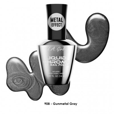 Liquid Chrome Nail Polish
