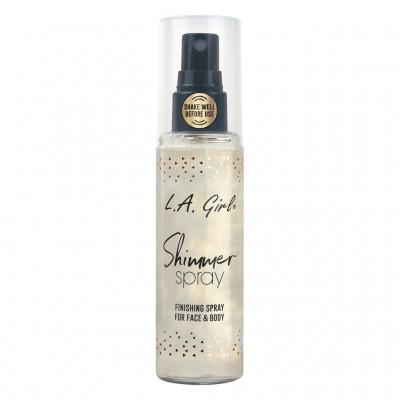 LA GIRL SHIMMER SPRAY-GOLD-GFS918