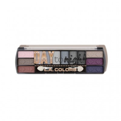 LA COLORS DAY TO NIGHT 12 COLOR EYESHADOW