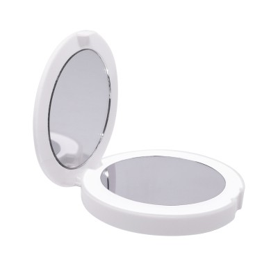 DOUBLE SIDED ROUND MAKEUP MIRROR
