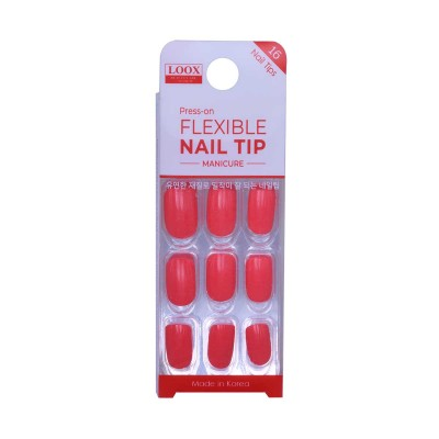 LOOX PRESS-ON FLEXIBLE NAIL TIP