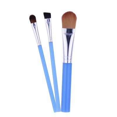 Red Star cosmetics 3 Pcs Brush Set