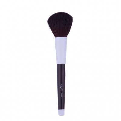 Red Star Powder Brush With Black Handle