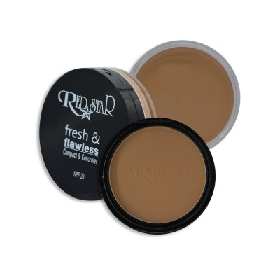 RED STAR  FRESH & FLAWLESS COMPACT & CONCEALER