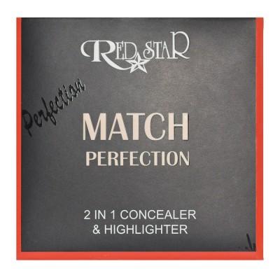RED STAR  2IN1 CONCEALER & HIGHLIGHTER