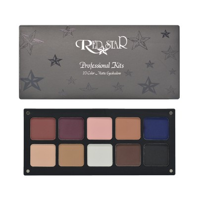 RED STAR 10 COLOR MATTE EYESHADOW